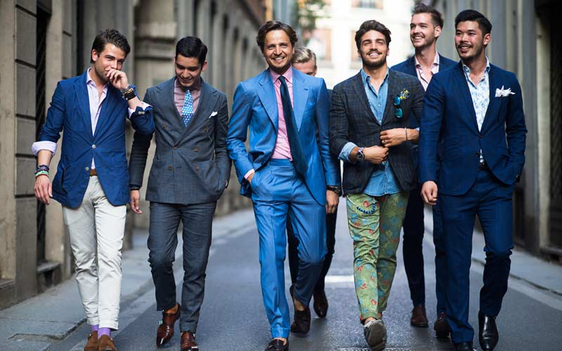 Pitti uomo la moda si d appuntamento a firenze Different fashion style groups